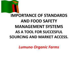 Lumuno - Importance of Standards Presentation