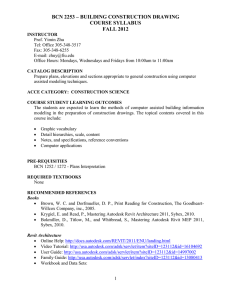 BCN 2253 SYLLABUS - School of Computing and Information