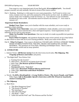 literary terms review sheet. Black Bedroom Furniture Sets. Home Design Ideas