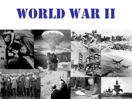 2 World War II notes study guide