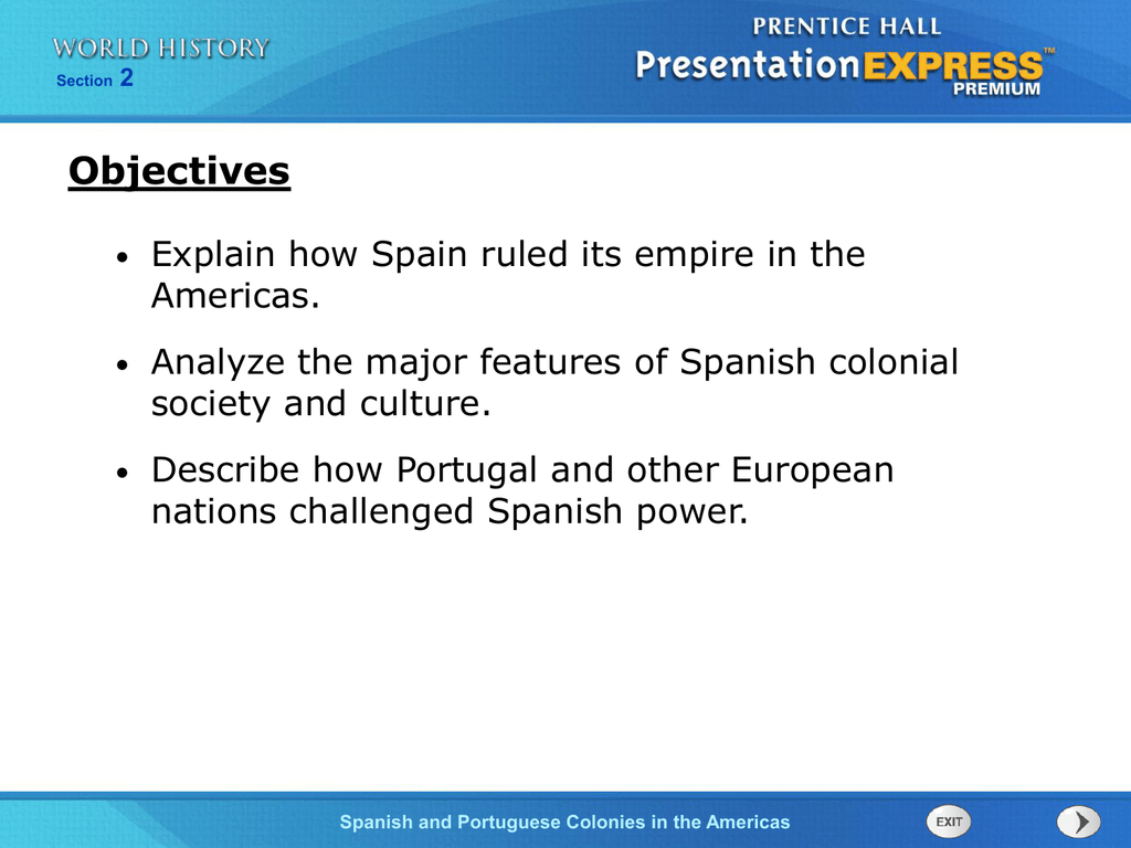 list of spanish colonies