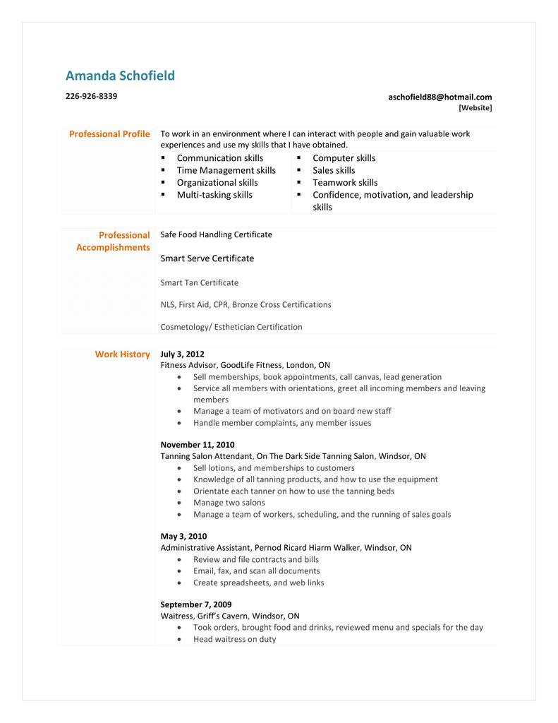 Functional resume - s3.amazonaws.com