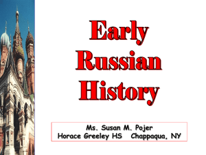 Early Russian History