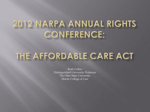 2012 NARPA Annual Rights Conference