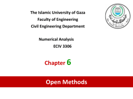 ch6 – open methods