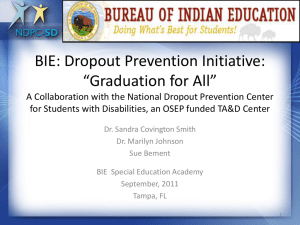 Dropout Prevention Initiative