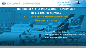 ICAO - The role of States in ATS Provision