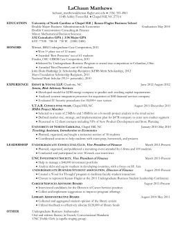 BSBA Resume sample 1