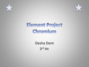 Element Project Chromium