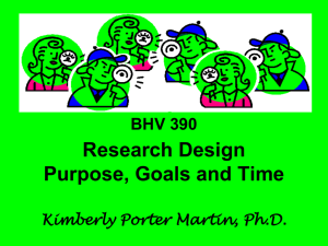 Research Design PowerPoint
