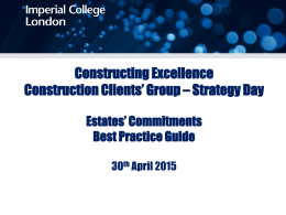 Constructing Excellence_CCG Presentation_300415