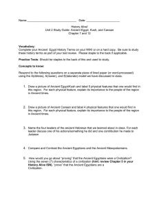 History Alive Unit 2 study guide