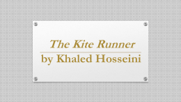 A Thousand Splendid Suns The Kite Runner by Khaled Hosseini