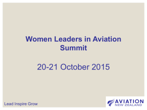 Who will lead Civil Aviation Tomorrow?