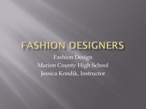 High-Fashion Designers