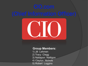 CIO.com Chief Information Officer