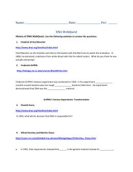 DNA History WebquestJ