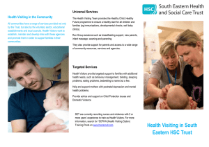 HV_Info_leaflet - South Eastern Health and Social Care Trust