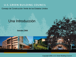 Web Site Redesign - US Green Building Council
