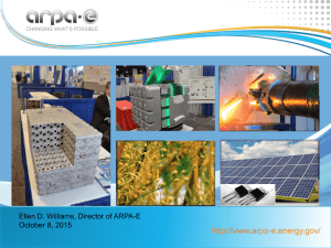 Update on ARPA