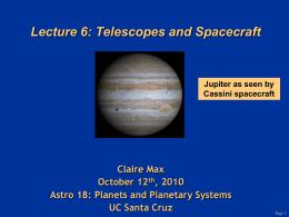 Lecture6.v1 - Lick Observatory