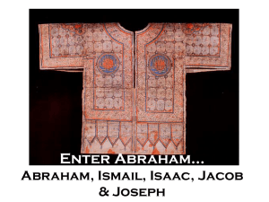 Abraham, Isaac, Ishmael, Jacob, and Joseph