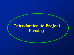 ProjectFinancing Slides