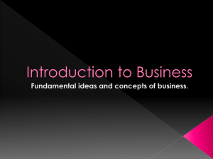 Understand principles of business 01.00