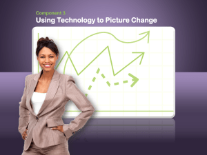 Using Technology to Picture Change