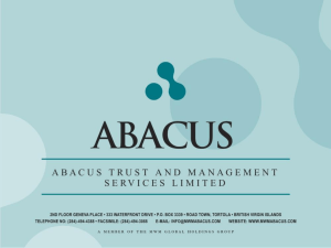 The MWM Real Estate Fund - Abacus Trust & Management Ltd.
