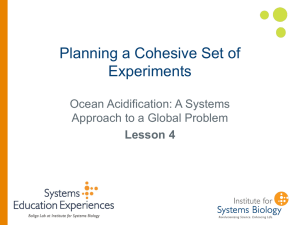 Planning a Cohesive Set of Experiments