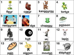 French Phonics 1