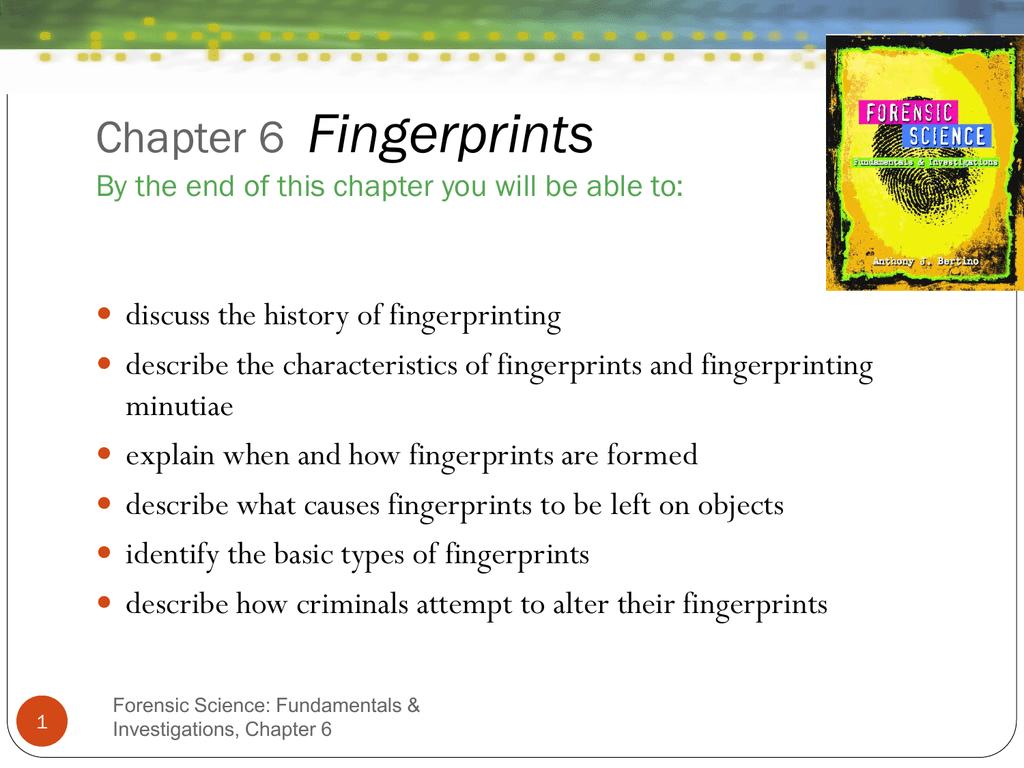 Fingerprints Final