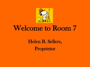 Welcome to Room 10 - snoopyloveshistory