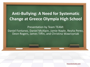 Anti-Bullying Presentation (GEDA569 final project)