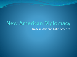 New American Diplomacy Notes
