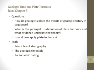 Geologic Time - APES have more fun