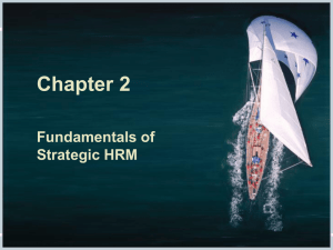 The HRM Functions