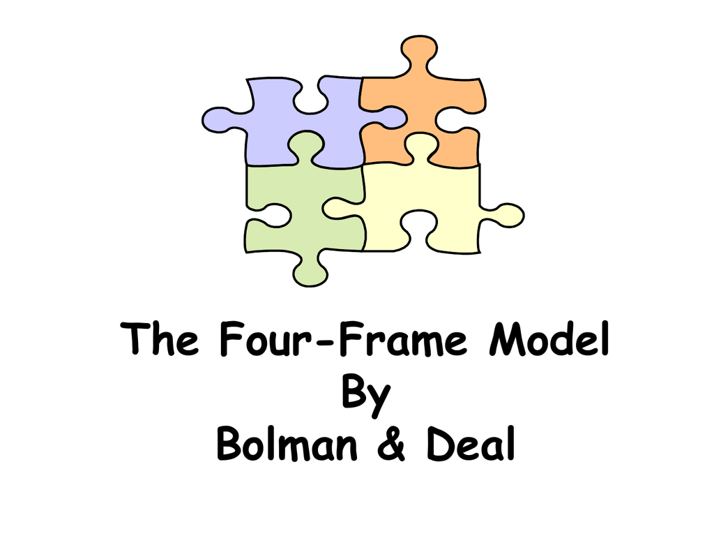 bolman and deal four frames