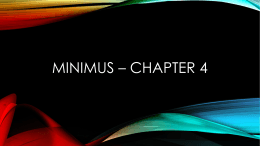 Minimus * Starting out in Latin