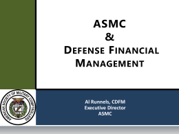 The Future of Defense Financial Management and