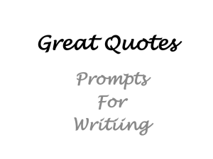 Quote Prompts