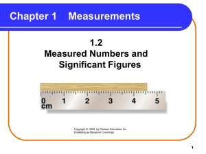 Measured Numbers