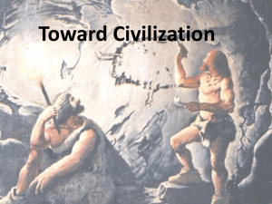 Toward Civilization - Wappingers Central School District