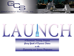 Students will Compete to be Part of the Project LAUNCH