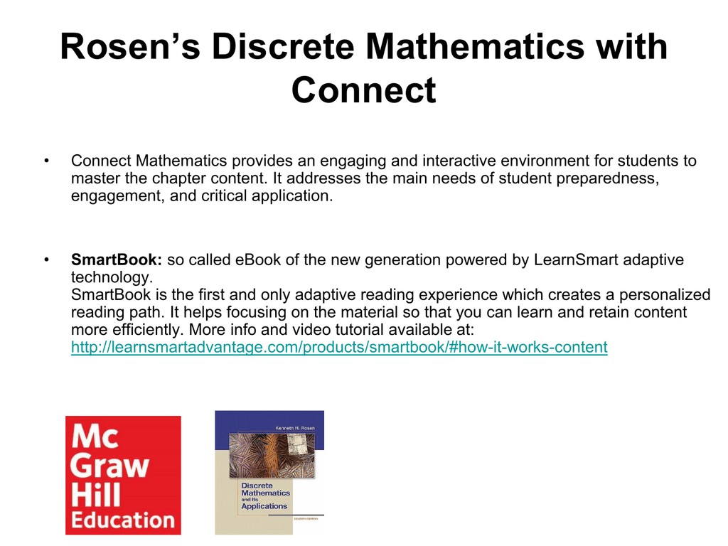 Mathematics rosen ebook applications discrete and its