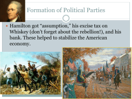 Federalists vs. Democratic
