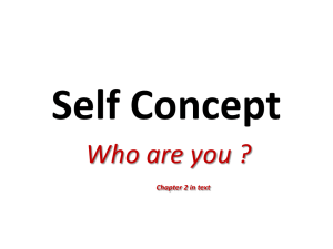 Self Concept - Wohlmuth@Weebly