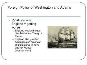 John Adams – Quasi War with France