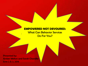 Empowered Not Devoured: